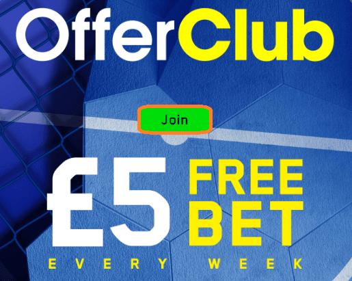 william hill free bet club