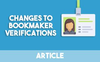 Changes To Bookmaker Verification - Team Profit